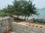7. balcony and beach